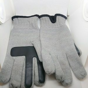 Isotoner Mens smarTouch Knit Gloves Large